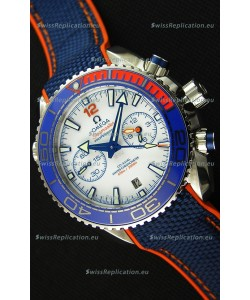 Omega Seamaster Planet Ocean 600M Michael Phelps 1:1 Mirror Ultimate Replica Edition