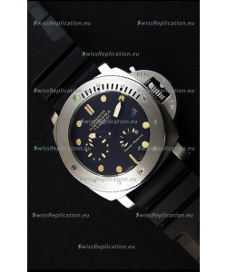Panerai Luminor Submersible Power Reserve Steel Japanese Replica Watch