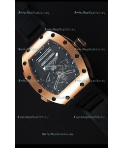 Richard Mille RM069 Tourbillon Erotic Pink Gold Case Replica Watch
