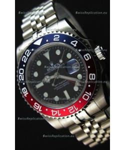 Rolex GMT Masters II 116719BLRO Pepsi Bezel Cal.3186 Movement Swiss Replica - Ultimate 904L Steel Watch