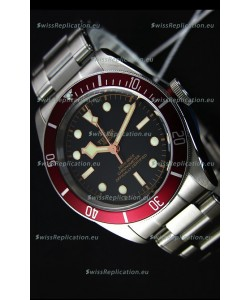 Tudor Heritage Black Bay Red Bezel Swiss Replica Watch 1:1 Ultimate Mirror Replica Edition