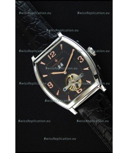 Vacheron Constantin Malte Japanese Tourbillon Replica Watch Black Dial