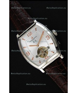 Vacheron Constantin Malte Japanese Tourbillon Replica Watch White Steel Dial