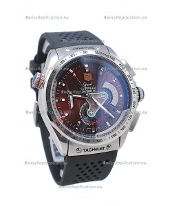 Tag Heuer Grand Carrera Calibre 36 Japanese Automatic Watch in Rubber Strap