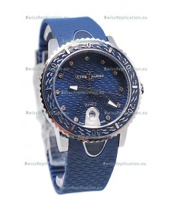 Ulysse Nardin Lady Diver Starry Night Replica Watch in Dark Blue Dial