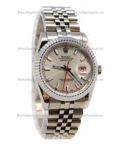 Rolex Datejust Japanese Watch in Grey Dial