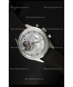 Zenith El Primero Chronomaster Handwind Power Reserve 42MM Replica Watch Silver Dial